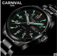 <b>Carnival Men's</b> Wristwatches for sale | eBay