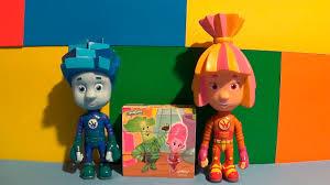 Мультфильм <b>Фиксики игрушки</b> собирают кубики - YouTube