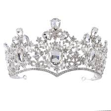 Fumud <b>New Arrival Fashion</b> Four Color Large Pageant Crowns ...
