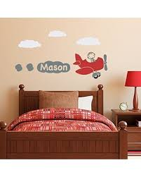 Amazing Deals on <b>Airplane Wall Decal</b> with <b>Personalized</b> Boys ...