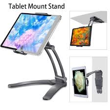 <b>Wall Desk Tablet Stand</b> Digital Kitchen Tablet Mount Stand Metal ...