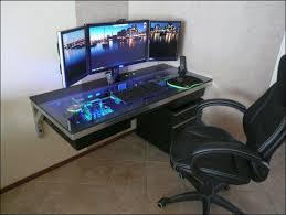 photo acrylic office desk wall mounted acrylic computer desk furniture acrylic office desk