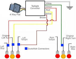 how to install a trailer light taillight converter in your towing taillight converter schematic