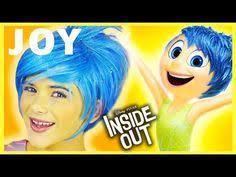 inside out joy makeup tutorial cosplay or kittiesmama you