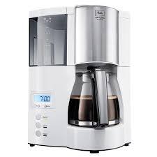 <b>Кофеварка капельная Melitta Optima</b> Timer 850Вт белый - купить ...