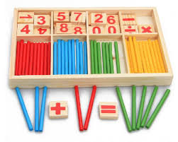 <b>Baby Toys</b> Counting Sticks Education <b>Wooden Toys</b> Building ...