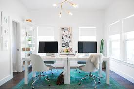 west elm office furniture. white desks designing a studio space from scratch by camille styles west elm u201c office furniture r