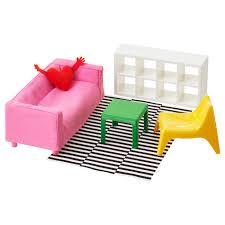 ХУСЕТ <b>Кукольная мебель</b>,<b>гостиная</b> - <b>IKEA</b>
