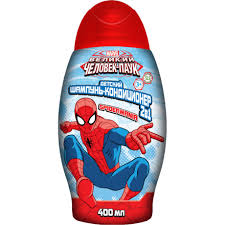 """Детский <b>шампунь</b> и кондиционер для волос 2 в 1 """"<b>Spider</b>-<b>Man</b> ..."""