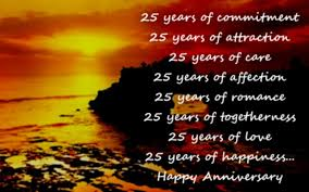 25th Anniversary Wishes: Silver Jubilee Wedding Anniversary Quotes ...
