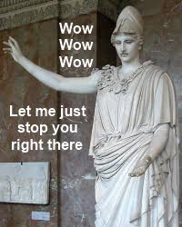 The Parmenides Parlor • Athena, goddess of wisdom and memes ... via Relatably.com
