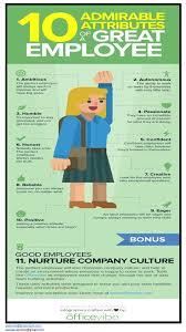exito ca oacute tico gu iacute as sencillas para lograr la excelencia 10 admirable attributes of great employees