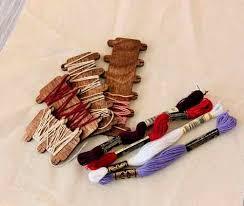 Набор шпулек для мулине деревянных <b>Березка</b> купить в Минске ...