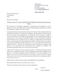 Sample Motivation Letter For Scholarship Application
