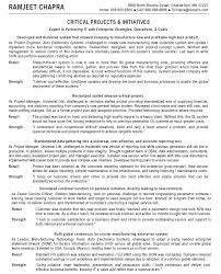 best resume format for project management management resume format
