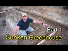 ideas about Underground Greenhouse on Pinterest    Here is part of the sunken greenhouse project  also known as a pit greenhouse