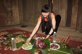 Kết quả hình ảnh cho Tết Nguyên đán của dân tộc Thái mù cang chải