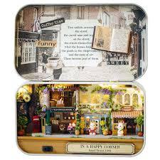 In A Happy Corner 3D Wooden <b>DIY</b> Handmade Box Theatre ...