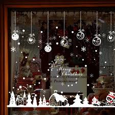 Christmas <b>Wall Sticker Home</b> Decor Store Window Decoration - Milk ...