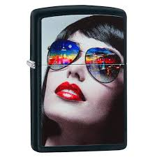 <b>Зажигалка</b> Zippo 29090 Reflective <b>Sunglasses</b> - Portfelchik