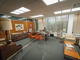 in commemoration of mad mens final season on televisionthe second half of which resumes april 5 2015new yorks museum of the moving image has launched a art roger sterling office