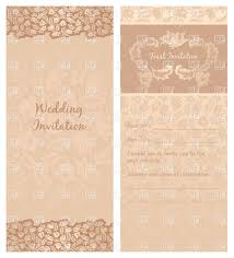 wedding invitation templates com vintage wedding invitation templates