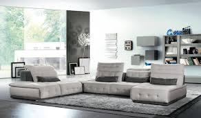 italian modular furniture. david ferrari daiquiri italian modern light grey u0026 dark fabric modular sectional sofa furniture
