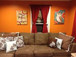 inspiration living room wondrous orange decors with excerpt living room paint color ideas living burnt orange living room furniture