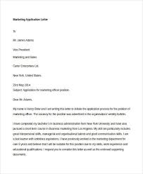 email marketing manager application letter Cover Letter And Resume Samples By Industry