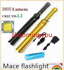 2019 Upgrade Baseball Bat Led Flashlight Cree XM <b>L2</b> 3800 ...