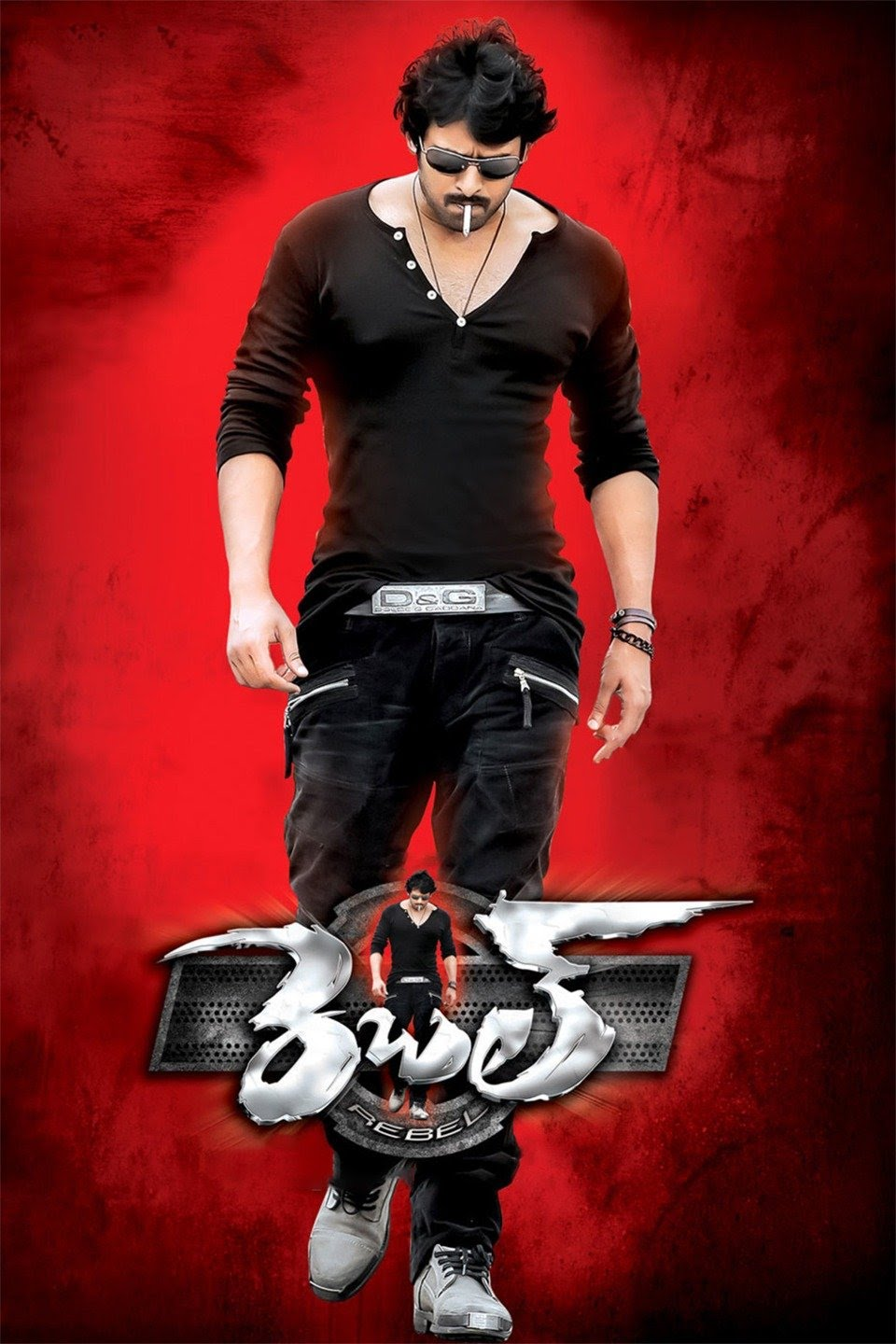 Download Rebel (2012) UNCUT Dual Audio {Hindi-Telugu} Movie 480p | 720p