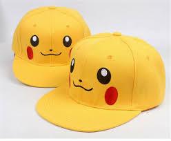 <b>Anime</b> Unisex Hat <b>Pokémon</b> Pikachu <b>Men</b> and Women <b>Hip</b>-hop ...