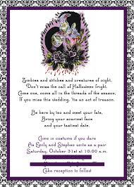 halloween wedding invitations com halloween wedding invitations correctly perfect ideas for your party invitations layout 3