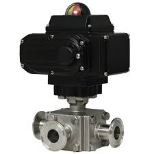 Series WE33 | 3-Way Tri-<b>Clamp Stainless</b> Steel <b>Ball Valve</b> can be ...
