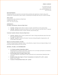 high school academic resume invoice template resume sample high school student academic by lizzy2008