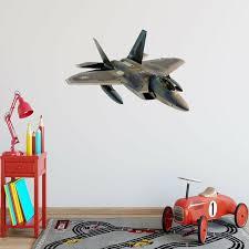 Zoomie Kids Huth Fighter <b>Jet Plane Wall Decal</b> | Wayfair