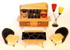 vintage german dollhouse furniture by veb niederseida vintage modern dollhouse furniture 1200 etsy