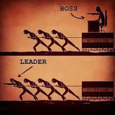 bad boss vs good leader image