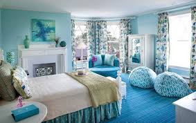 lovely teenager girls bedroom in blue with special furniture and accessories idea for romantic look accessorieslovely images ideas bedroom
