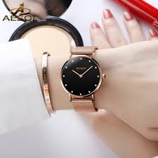 Aesop Women's <b>Watch</b> A-L1003 Ultra-Thin Waterproof <b>Fashion</b> ...