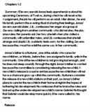 the giver contrast essay   essay topicsessay on the giver by lois lowry