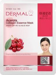 Dermal Korea Acerola <b>Collagen Essence Face Mask</b> - Skinteec Life ...