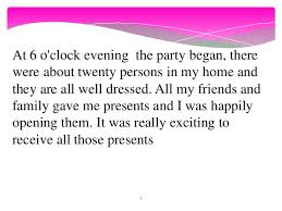 example essay about my birthday   helpessay   web fc  comexample essay about my birthday