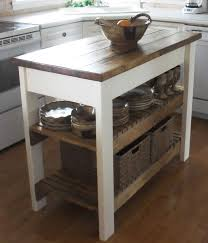 rustic kitchen island: this blogger says quotthe plans were easy to follow i modified my island to