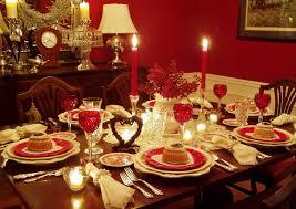 Dining Room Table Setting Romantic Valentine39s Day Tablescapes Table Settings With Heart