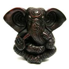 Купить <b>статуэтка ганеш</b> из <b>темного пластика</b> 13 см в Ramayoga ...