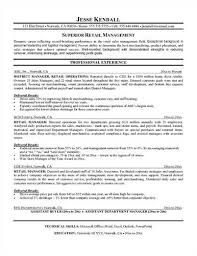 Sample Retail Supervisor Resume - Resume Samples Retail Supervisor Resume Example (Visionworks) - Denton, Texas