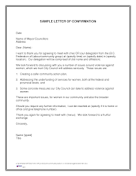 doc 12751650 format of confirmation letter for interview thank best photos of confirmation letter sample work confirmation
