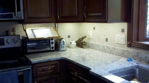 Kitchen Under Cabinet Lights Undercabinet Led Light Strip Installation Beautiful Youtube