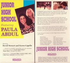junior high school the musical that found the high notes of your after some initial airings on cable their musical faded out of circulation occasionally resurfacing in kids film series and school screenings jr high